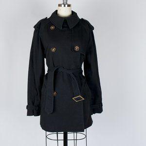 Lauren Jeans Co Denim Double Breast Jacket Black